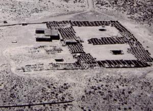 1945 - Aerial view of the Coronado Historic Site.