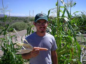 First Corn!