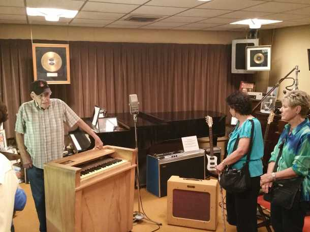 Original instruments used at the Norman Petty recording studio