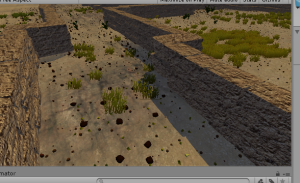 Added pot sherds to the landscape