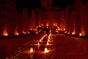 Jemez Historic Site Lights Up for theHolidays