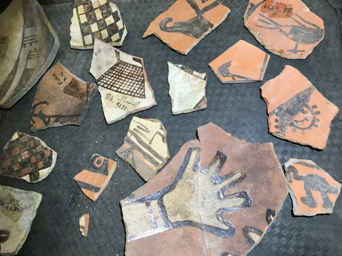 Painted pottery sherds
