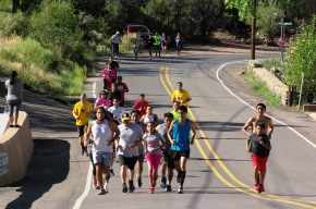 A Run For Independence:   Pueblo Independence Day at Jemez Historic Site