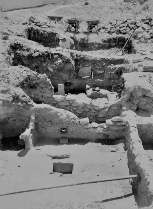 Rooms excavated at Jemez Historic Site in 1965, courtesy of the Museum of Indian Arts and Culture - Laboratory of Anthropology_.jpg