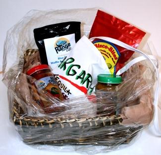 Range Cafe Gift Basket