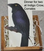 Indigo crow dinner for twoC